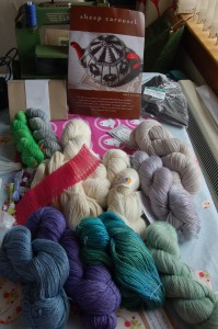 Woolfest yarn haul